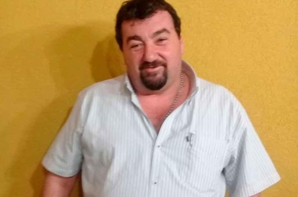 Gerardo Brunori, ex intendente de Ordóñez. Crédito: Gentileza