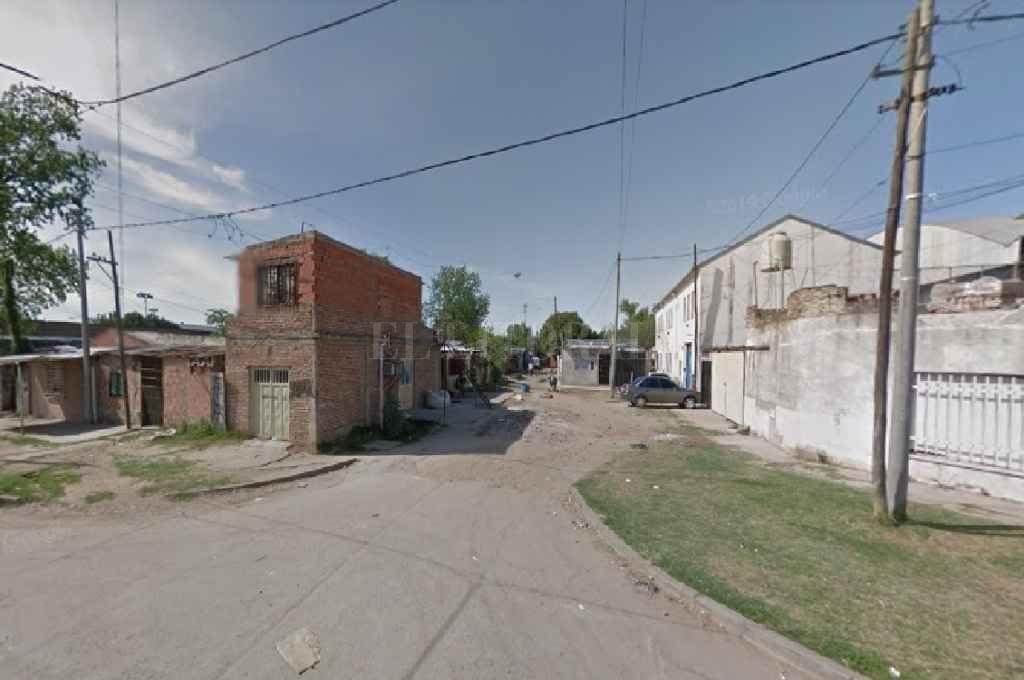Cabildo Aldao y Casilda, la cuadra donde ocurrió el hecho. Crédito: Agencia Rosario.