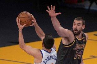 Los Nuggets de Campazzo perdieron contra Lakers, pero se aseguraron un lugar en los playoffs