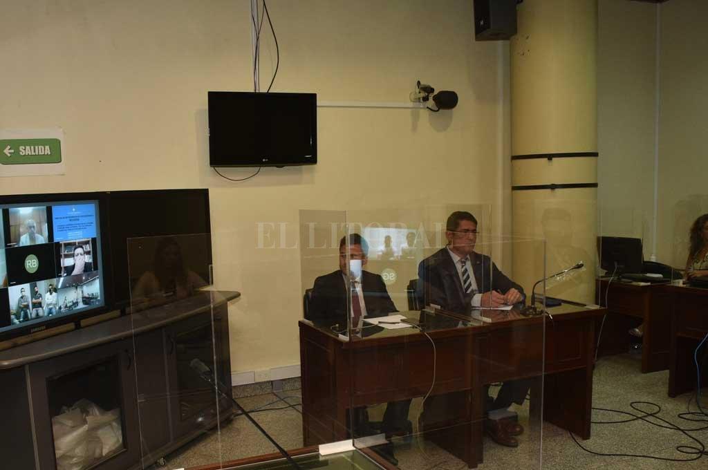 En la etapa de juicio la labor acusatoria recayó en el fiscal general Martín Suárez Faisal, quien trabajó el caso junto con la Procunar. Crédito: Archivo El Litoral