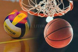 Actividades suspendidas en el básquet y el voley local