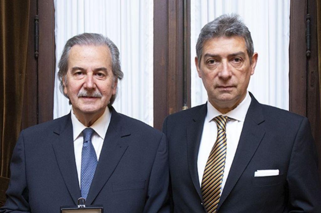 Juan Carlos Maqueda y Horacio Rosatti Crédito: CIJ