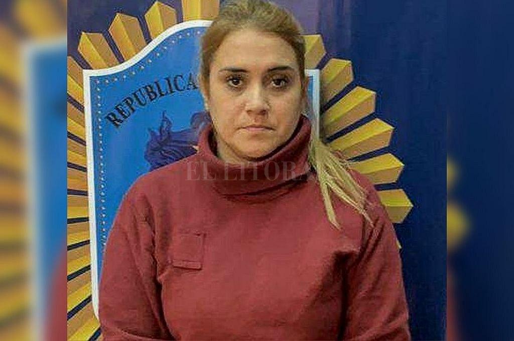 Sonia Soloaga, la mujer policía que está detenida e imputada y que comenzará a ser juzgada. Crédito: Captura digital