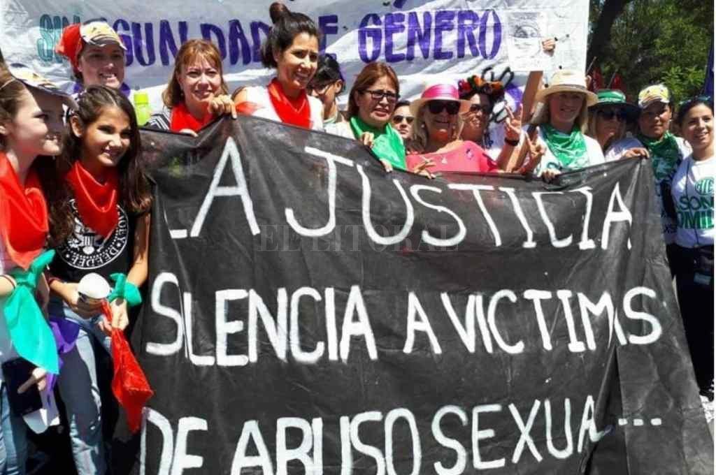 Movilizaciones en la Provincia de Chaco contra el abuso infantil Crédito: Gentileza