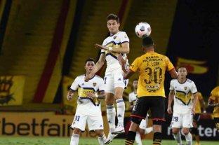 Boca perdió 1 a 0 contra Barcelona en Guayaquil