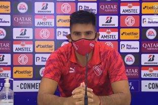 """La Conmebol nos falló"" dijo Silvio Romero, capitán de Independiente"