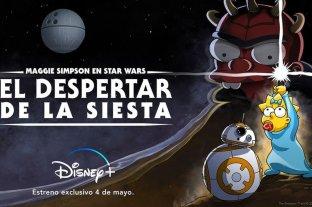 Disney+ estrenó un corto de Los Simpson para celebrar el Día de Star Wars