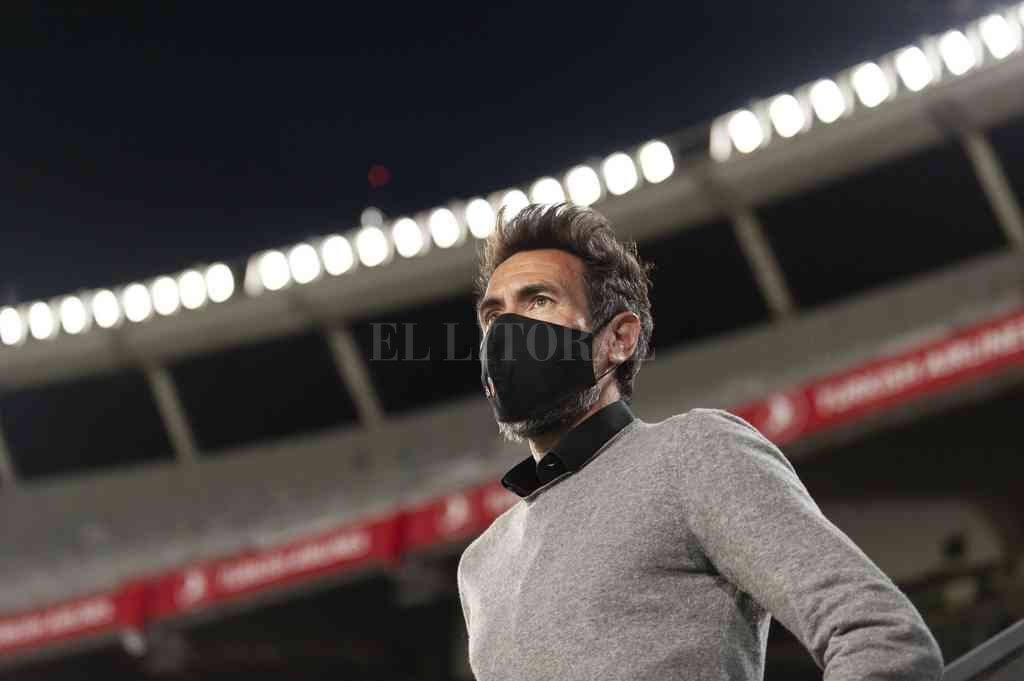 Domínguez confía en su equipo y apunta a pelear por el título. Crédito: Matías Nápoli