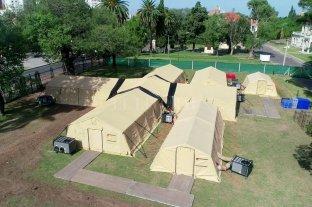 Por qué la carpa militar se instaló en el Liceo y qué pacientes la ocuparán
