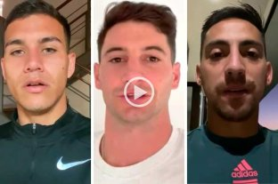 Video: Alario, Correa y Vigo saludan a Colón por su cumpleaños
