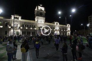 Video: Paraná marchó a favor de las clases presenciales