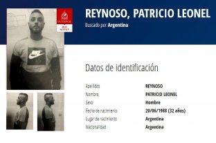 Patricio Reynoso, el femicida de Pilar Riesco, es el argentino prófugo más buscado por Interpol