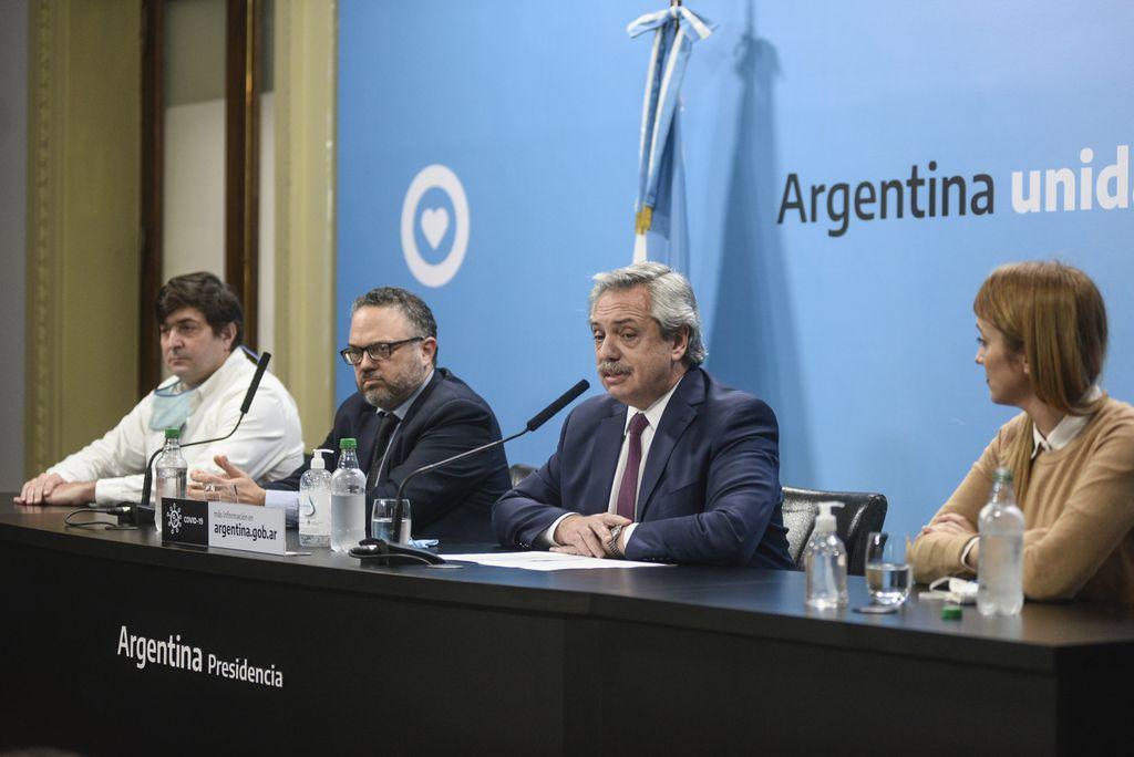 Matías Kulfas y Alberto Fernández estarán en la presentación. Crédito: Gentileza