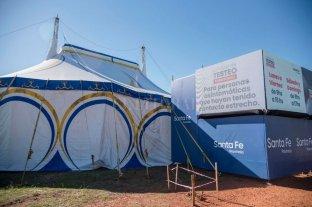 El Circo Rodas le presta a la provincia su carpa para poder realizar testeos masivos de Covid