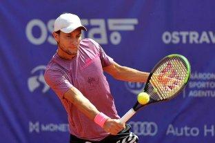El rosarino Renzo Olivo fue eliminado en los octavos de final del Challenger de Praga
