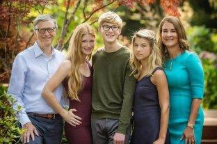 """Bill y Melinda Gates """"blindan"""" la vida de sus hijos para protegerlos de la mediatización del divorcio"""