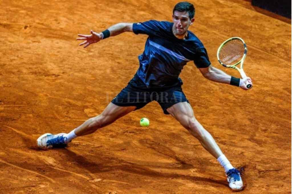 Delbonis se despidió del Masters de Madrid ante el italiano Matteo Berrettini - El tenista argentino quedó eliminado en octavos de final del Masters de Madrid -