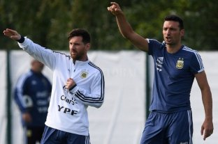 Scaloni dio la lista de 30 futbolistas del exterior para las Eliminatorias