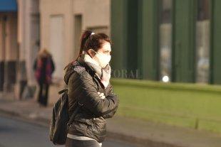 Viernes muy frío en la ciudad de Santa Fe