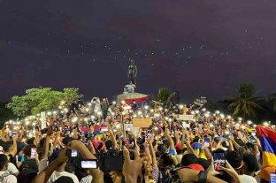 Con antorchas, Cartagena marchó por la paz, la vida y los derechos sociales