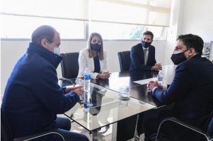 El ministro Trotta llegó a Paraná para reunirse con el gobernador Bordet