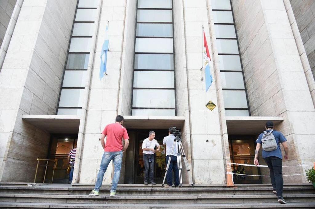 Tribunales provinciales - ciudad de Rosario Crédito: Archivo
