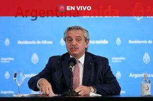 Alberto Fernández anuncia medidas económicas ante la segunda ola del coronavirus