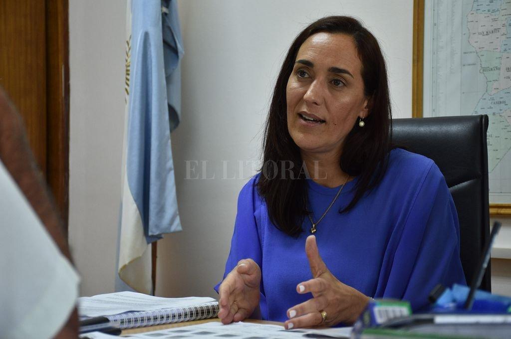 Erika Gonnet, ministra de Ambiente  y Cambio Climático de Santa Fe Crédito: Luis Cetraro - Archivo