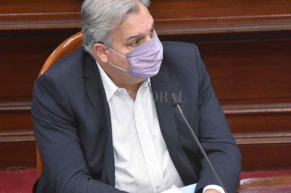 Pablo Farías, presidente del interbloque Frente Progresista Crédito: Manuel Fabatía