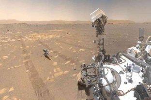 La NASA capta los sonidos en vuelo de su helicóptero Ingenuity en Marte