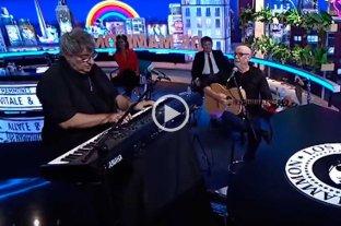 """Baglieto y Vitale tocaron juntos en """"Los Mammones"""""""