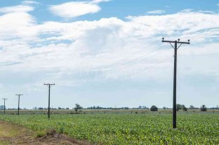 Mejoran el suministro de energía en Piamonte, Egusquiza y Las Tunas