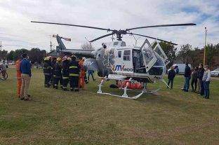 El oeste santafesino negocia la posibilidad de contratar un servicio aéreo de emergencias