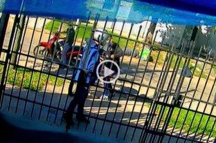 Gracias a la tecnología y al accionar de policías y vecinos recuperó su moto robada -