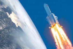 El cohete chino que estaba fuera de control se desintegró sobre el Océano Índico -