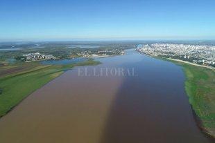 Juncos, sauces y alisos, son los nuevos habitantes del ¿río? Setúbal - 26.04.21. Así se ve ahora la laguna, con la nueva vegetación que crece de forma acelerada en sus márgenes. -