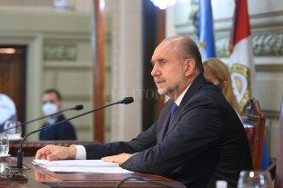 Sustentabilidad fiscal, ¿qué es lo que pretende la gestión de Omar Perotti? - En el discurso ante la Asamblea Legislativa, el gobernador Perotti deslizó un importante concepto.  -