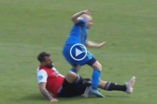 Video: impresionante lesión de Pratto en la derrota de Feyenoord contra el campeón Ajax