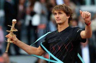 Zverev, campeón en el Masters 1000 de Madrid