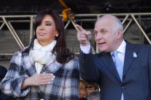 Cristina Kirchner lamentó el fallecimiento de Lifschitz