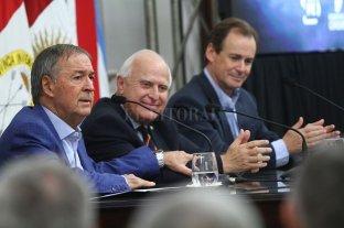Los gobernadores de la región centro lamentaron la muerte de Miguel Lifschitz
