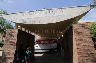 Camas por aulas en el Hospital de Niños