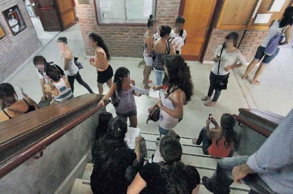 Uno de los pasillos de la FBCB. La foto es sólo ilustrativa, y fue tomada en marzo de 2012.    Crédito: Archivo El Litoral/ Mauricio Garin