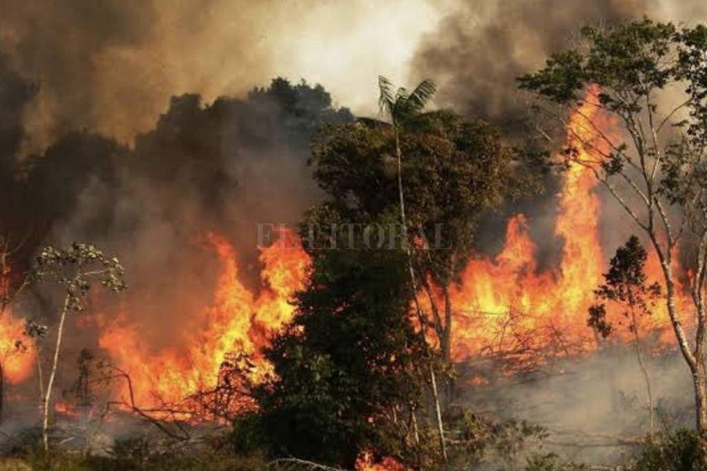 El cacique Zapicano de la nación Charrúa, fue advertido por los observadores de la gruesa columna de humo que se levantaba en el horizonte noroeste. Crédito: Archivo