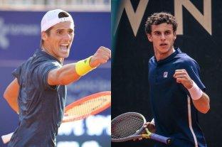 Federico Coria y Juan Manuel Cerúndolo avanzaron a la segunda ronda del Challenger de Zagreb