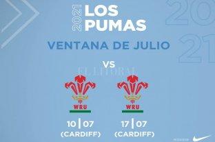 Los Pumas enfrentarán a Gales en condición de visitantes