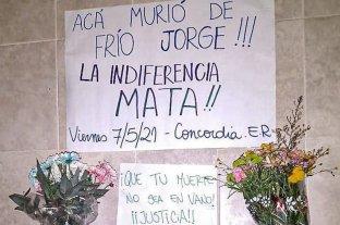 Entre Ríos: un hombre en situación de calle murió de frío y una ONG hace pedidos al Estado