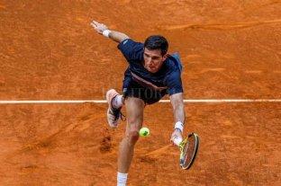 Federico Delbonis se impuso en el Masters de Roma y Guido Pella abandonó en su debut