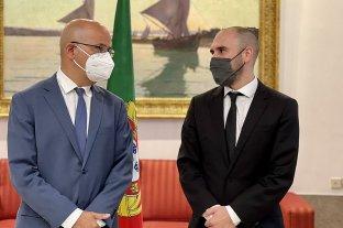 Guzmán agradeció el apoyo de Portugal para obtener una rebaja en los sobrecargos del FMI