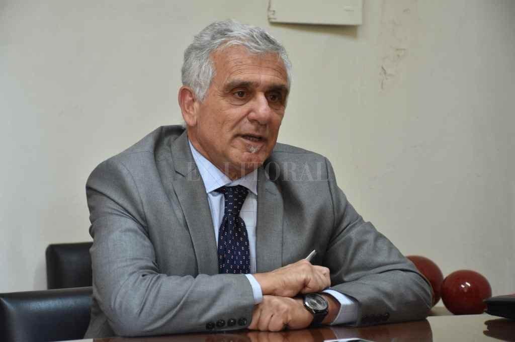 El secretario de Justicia, Gabriel Somaglia, destacó la cantidad de inscriptos en los diferentes concursos abiertos para cubrir juzgados vacantes en la provincia.    Crédito: Manuel Fabatía
